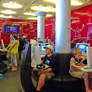 Интернет-кафе Каспийского